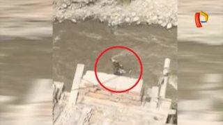 Perrito pierde la vida tras caer al río Rímac