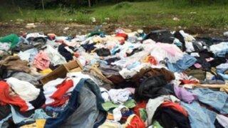 Terremoto en Ecuador: ropa para damnificados acabó en basurero
