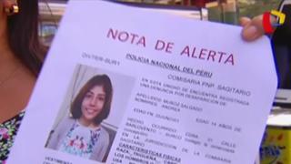 Surco: denuncian extraña desaparición de escolar tras acudir a colegio