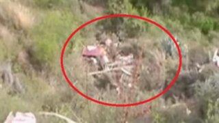 Cusco: vuelco de camión deja seis muertos