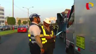 Callao: trailers siguen circulando por av. Óscar Benavides pese a prohibición