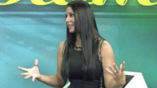 Karla Tarazona habla tras escándalo entre Christian Domínguez y Vania Bludau