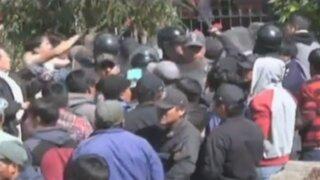 Se inició gresca durante audiencia pública en Chavín de Huántar
