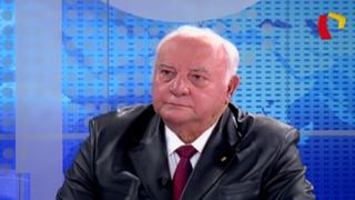 """Giampietri sobre Asociación Patria: """"Queremos defender a militares, policías y ronderos"""""""