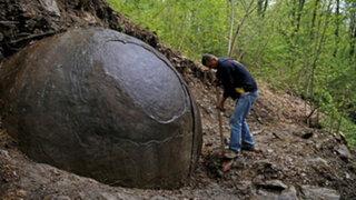 FOTOS: esta es la misteriosa roca gigante descubierta en Bosnia y que nadie puede explicar