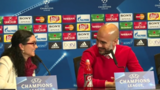 Champions League: traductora desespera a 'Pep' y Simeone en conferencia
