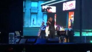 Así se vivió el concierto de Alejandro Sanz en el Estadio Nacional