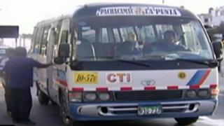 Callao: delincuentes cobran cupos a transportistas