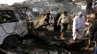 Irak: doble atentado suicida deja 27 muertos y 53 heridos