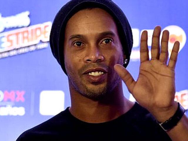 Ronaldinho saldrá de prisión y cumplirá arresto domiciliario tras pagar millonaria fianza