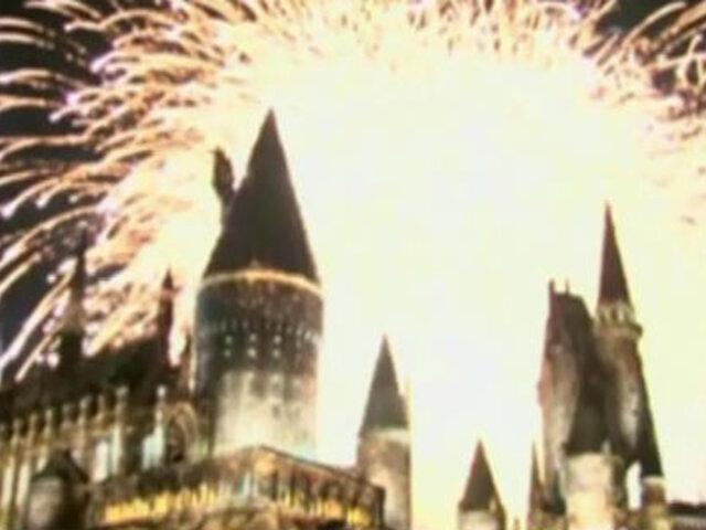 EEUU: estrenan parque temático de Harry Potter