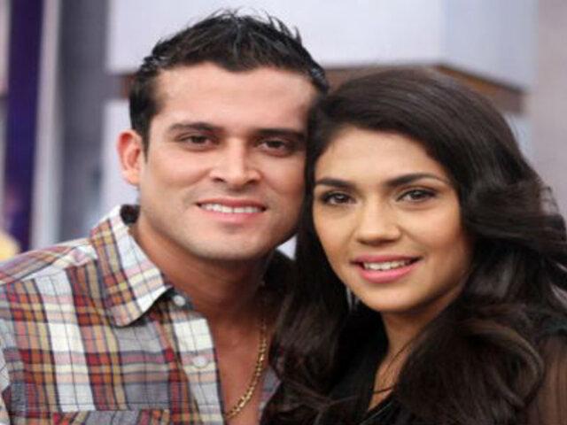 Revelan polémicos audios entre Vania Bludau y Christian Domínguez