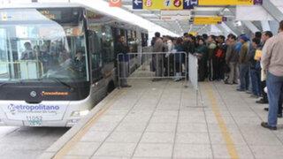 Metropolitano: desde hoy funciona nuevo servicio Súper Expreso Norte