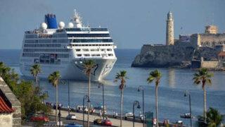 Llegó a Cuba el primer crucero que zarpó en Estados Unidos