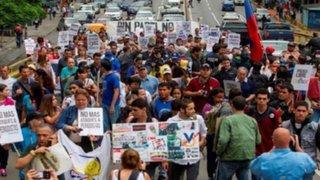 Así se vivió el Día Internacional de la Libertad de Prensa en Venezuela