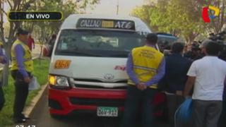 Realizan operativo contra custers 'piratas' en avenida Benavides