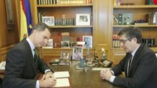 España: rey disuelve Congreso y llama a elecciones