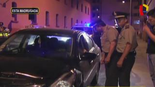 Centro de Lima: coronel PNP en presunto estado de ebriedad provoca choque