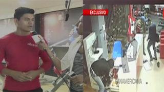 Delincuentes armados asaltan gimnasio y a clientes en Puente Piedra