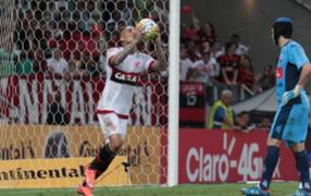 Paolo Guerrero volvió a anotar con el Flamengo