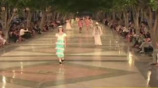 Realizan histórico desfile de 'Chanel' en Cuba