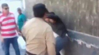 Arequipa: policía municipal golpeó a vendedor ambulante