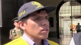 Cercado de Lima: inspector fue agredido por un taxista