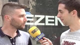 VIDEO: lo acusan de robo en plena entrevista para la televisión