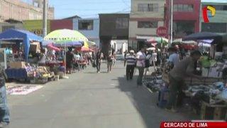 MML recupera calles tomadas por ambulantes en Cercado de Lima