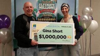 EEUU: mujer que padece cáncer gana dos veces la lotería