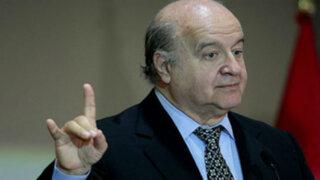 """Mininter sobre encuesta presentada por Hernando de Soto: """"no corresponde a la verdad"""""""