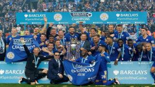 Leicester derrotó a Everton y dio histórica vuelta olímpica