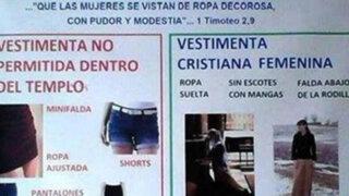 Sacerdote prohíbe a las mujeres ir a la Iglesia en jeans o faldas cortas