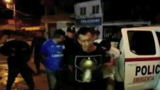 Piura: caen asaltantes de turistas en Máncora