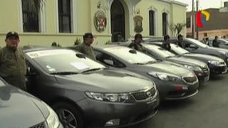Policía recupera en diversas ciudades vehículos robados en Lima