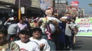 Chimbote: ciudadanos protestan por construcción de Vía Evitamiento