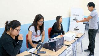 ONPE propone remunerar a miembros de mesa en futuras elecciones