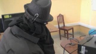 Cajamarca: detienen nuevamente a 'hombre de negro'