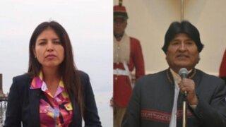 Chile: Alcaldesa de Antofagasta mandó a callar a Evo Morales