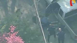 EEUU: hombre sufre brutal golpiza tras persecución policial