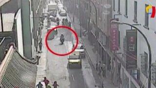 Así fue el violento asalto a cambistas en el Barrio Chino