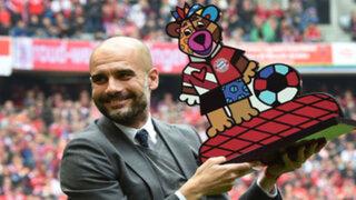 Guardiola se despidió de la hinchada del Bayern Múnich tras conseguir el tetracampeonato