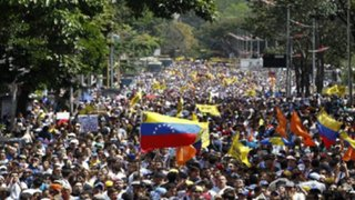 Venezuela: Oposición marcha por revocatoria de Nicolás Maduro