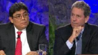 Elmer Cuba y Alfredo Thorne: sus apreciaciones tras el debate
