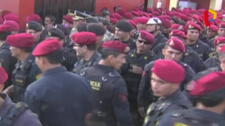 Policía refuerza seguridad en Lima Metropolitana