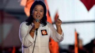 Keiko Fujimori realiza actividades partidarias en Trujillo