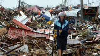 Japón: dos muertos y más de 50 heridos tras fuertes vientos