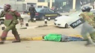 Kenia: policías mataron a golpes a manifestante