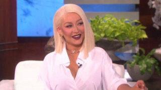 Christina Aguilera se luce imitando a Rihanna, Beyoncé y Whitney Houston
