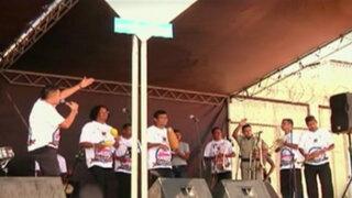 Internos ofrecen concierto de salsa en el penal Sarita Colonia